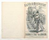 A la fête de Ménilmontant : chansonnette / paroles de Ch. Blondelet et C.t Saclé ; musique de A. de La Gravelière ; créée par Melles Mazedier à l'Eldorado et Naya aux Ambassadeurs