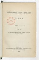 Nathaniel Hawthorne's Tales.... The House with the seven gables, and the Scarlet letter