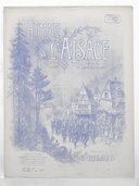 Hymne à l'Alsace. Paroles du L.t Léon Boschet, musique du C.ne Rigaud