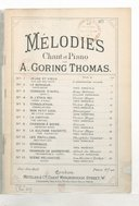 Mélodies.... English words by Theo Marzials, J. Oxenford and others