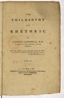 The Philosophy of rhetoric, by George Campbell,...