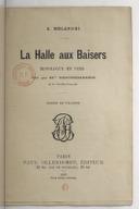 La halle aux baisers : monologue en vers dit par Mlle Reichemberg,... / A Mélandri ; dessins de Willette