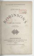 L'école des Robinsons (10e édition) / par Jules Verne... ; [dessins par L. Benett]