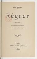 Régner : poèmes / Léon Deubel ; préface par Louis Pergaud