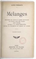 Mélanges . Histoires de loups et autres nouvelles. Les Petits gars des champs. Léon Deubel. Lettres à sa femme (1914-1915), suivies de fragments du carnet de guerre. 3e édition