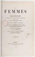 Les femmes de Shakespeare : quarante-cinq magnifiques portraits gravés sur acier par les plus célèbres artistes de Londres : accompagnés de notices critiques et littéraires. Tome 2 / par MM. de Pongerville,... Philarète...