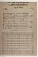 Solfèges du Conservatoire par Cherubini, Catel, Méhul, Gossec, Langlé, etc (Nouvelle édition, livre 6)