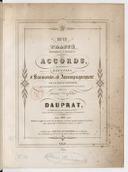 Nouveau traité théorique et pratique des accords ou préceptes et exemples d'harmonie et d'accompagnement de la basse chiffrée