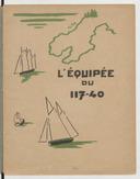 L'Équipée du 117-40, par George Auriol. Dessins par André Hellé