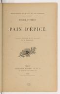 Pain d'épice / Roger Dombre ; ouvrage illustré de 37 gravures par H. Gerbault