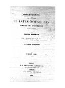 Observations sur plusieurs plantes nouvelles rares ou critiques de la France. Fragment 2 / par Alexis Jordan