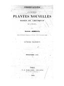 Observations sur plusieurs plantes nouvelles rares ou critiques de la France. Fragment 7 / par Alexis Jordan