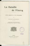 La bataille de l'Ourcq : livret explicatif de la vue panoramique / par Gervais-Courtellemont...