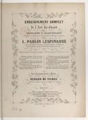 Enseignement complet de l'art du chant, les accompagnements de piano par Renaud de Vilbac, texte anglais de Fanny Burdett