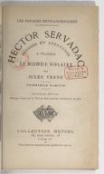 Hector Servadac : voyages et aventures à travers le monde solaire / par Jules Verne ; dessins de P. Philippoteaux, gravés par Laplante
