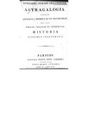 Aug. Pyrami de Candolle Astragalogia nempe astragali, biserrulae et oxytropidis, nec non phacae, colutae et lessertiae, historia iconibus illustrata ([Reprod.])