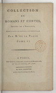 Collection de romans et contes, imités de l'anglois. Tome 6 / , corrigés et revue de nouveau par M. de La Place...