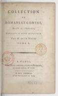 Collection de romans et contes, imités de l'anglois. Tome 5 / , corrigés et revue de nouveau par M. de La Place...
