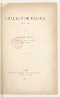 Charles de Valois (1270-1325) / par Joseph Petit,..