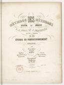 Méthode des méthodes pour le piano par F. J. Fétis et J. Moscheles 2me partie : 18 études de perfectionnement, composées par MM Benedict, Chopin, Döhler, Heller, Henselt, Liszt, Mendelssohn, Méreaux, Moscheles, Rosenhain,...