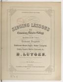 Singing lessons, 25 elementary melodie solfeggi for the medium of the voice celebrated fragments , of Beethoven, Bellini, Dalayrac, Donizetti, Grétry, Haas, Haydn, Hummel, Méhul, Mozart, Reissiger, Rossini, Silcher, Spohr,...