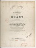 Méthode de chant composée pour ses classes du Conservatoire / par Mme Cinti-Damoreau