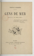 """Gens de mer : extrait de """"Les amours jaunes"""" / Tristan Corbière"""