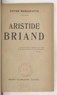 Aristide Briand / Victor Margueritte
