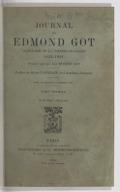 Journal de Edmond Got, sociétaire de la Comédie-Française, 1822-1901 / publié par son fils Médéric Got ; préface de Henri Lavedan,...