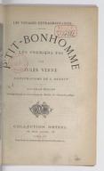 Les voyages extraordinaires. P'tit-bonhomme. Les  premiers pas / par Jules Verne ; illustrations de L. Benett