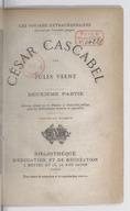 Les voyages extraordinaires. César Cascabel. Partie 2 / par Jules Verne ; [illustrations de George Roux]