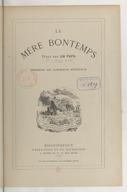 La Mère Bontemps / texte par un papa [P.-J. Hetzel] ; dessins de Lorentz Froelich