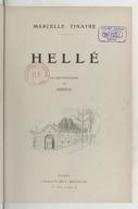 Hellé / Marcelle Tinayre ; Illustrations de Jordic