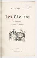 Les Chouans / H. de Balzac ; illustrations de Julien Le Blant