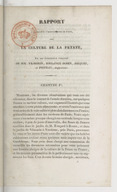 Rapport à la Société d'horticulture de Paris, sur la culture de la patate / par une commission composée de MM. Vilmorin, Soulange-Bodin, Jacques et Poiteau, rapporteur