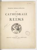 Cathédrale de Reims. [Mai-juin 1915.]