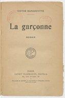 Garçonne, roman
