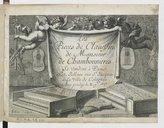 Les pieces de clavessin de Monsieur de Chambonnieres ([1er tirage])