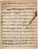 Canticum Moysis. Exod. 15. // III. motet