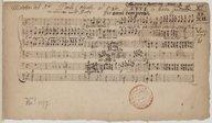 [Quo progrediar / Paolo Cornetti. O bone Jesu / Alessandro Grandi. Beatus vir / Giovanni Antonio Rigatti]