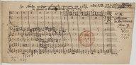Ex Theatro musico Samuelis capricorni. an. 1669 // De gloria et beatitudine sanctorum. // a 3. V. ATB. cum 2. violinis, fagotto // et org. n[ecessa]riis, viola ad libitum