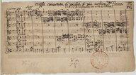 Missa Concertata. 6. vocibus. 5 Toni. authore D.o fiocco. // CCATTB. et organo. una viola ad libitum