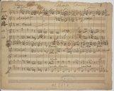Concerto (manuscrit autographe)