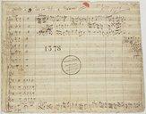 Credidi a 9 Voci con V.V. e Violetta (manuscrit autographe)