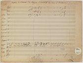 Sémiramis. Opéra - Fragments de l'arrangement pour l'Opéra de Paris par Carafa