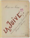 Recueil de mises en scène : La Juive, Moïse, Pierrot macabre, Hamlet, Rigoletto, Le postillon de Lonjumeau