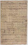 4 v der 8ter Psalm 1772 (manuscrit autographe)