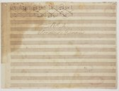 N° 2. // Sonate de Gaviniès (manuscrit autographe)