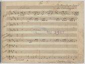 Di Bonifazio Asioli // da Correggio (manuscrit autographe)