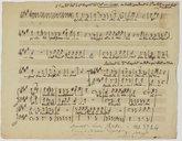 """[Additions à la romance """"C'est une larme"""" de Charles Philippe Lafont] (manuscrit autographe) / Henri Montan Berton]"""